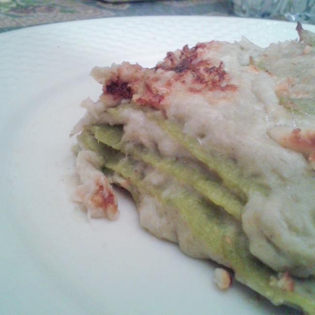 Natale in cucina: lasagne verdi per la vigilia